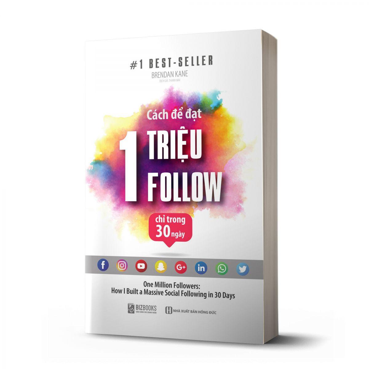 Combo sách: để đạt 1 Triệu Follow chỉ trong 30 ngày
