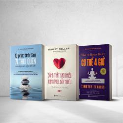 Bộ 3 cuốn sách sức khỏe là vàng - Hạnh phúc không có gì hơn là có một sức khỏe tốt
