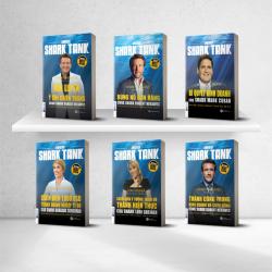 Bộ sách Sharktank: Mưu lược trong kinh doanh (tặng kèm Boxset)