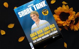 """Độc giả nói gì về cuốn """"Cách biến 1000 USD thành doanh nghiệp tỷ đô của Shark Barbara Conrcoran"""""""