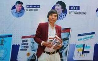 Tiến sĩ Lê Thẩm Dương khuyên bạn trẻ đọc Đắc Nhân Tâm