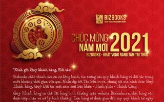 Lịch nghỉ tết Tân Sửu 2021 - Bizbooks