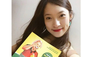 """Khánh Vy giới thiệu về sách """"Luyện siêu trí nhớ từ vựng THPT"""""""