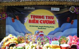 BizBooks đồng hành cùng chương trình Trung thu Biên Cương tại Bát Mọt - Thanh Hóa