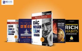 5 Cuốn sách phải đọc trước tuổi 30 - Top 5 cuốn sách bán chạy nhất năm