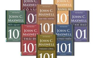 Những cuốn sách về quản trị lãnh đạo hay nhất của John C.Maxwell