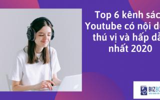 Top 6 kênh sách youtube - sách nói youtube đáng xem nhất 2020